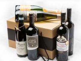 Wijnpakket voor wijncursus de Basis