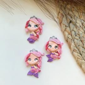 Zeemeermin roze/paars