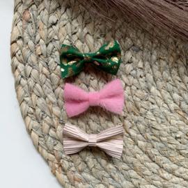 Setje groen roze 5cm
