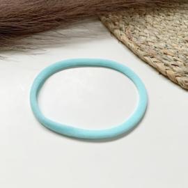 Lichtblauw haarbandje smal