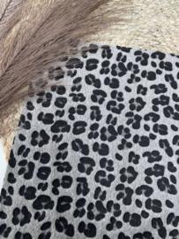 Furry panter grijs A4