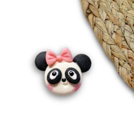 Panda met strikje