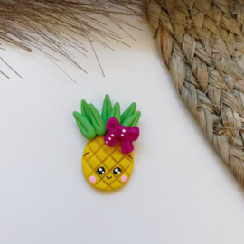 Ananas roze strik
