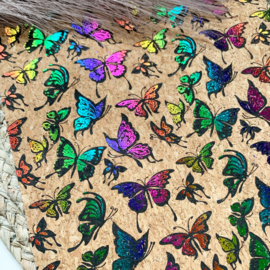 Kurk vlinder A4