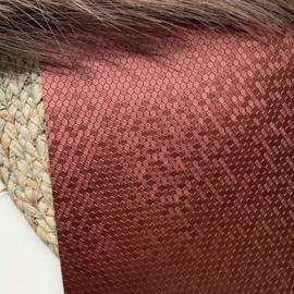 Honingraat pearly bruin A4