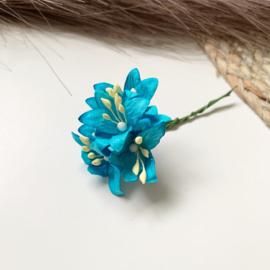 Lelie blauw 10mm 5st