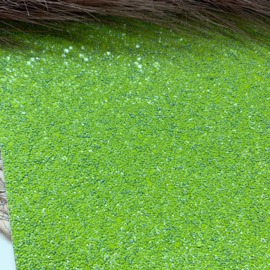 Glitter chunky groen 34x20cm