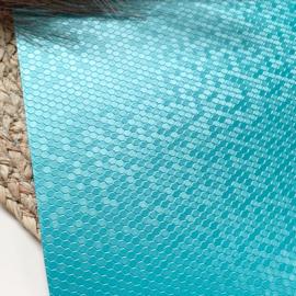 Honingraat  zeeblauw A4