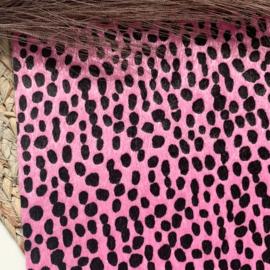 Furry roze vlekjes A4
