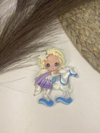 Elsa op paard