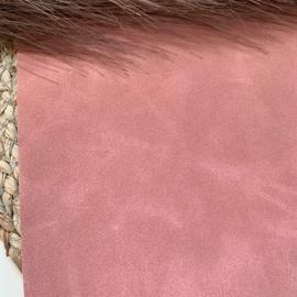 Oud roze suede  A4