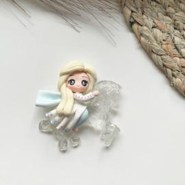 Ijs prinses met paard