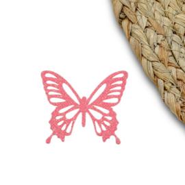 Vlinder groot roze
