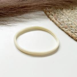 Ivoor haarbandje smal