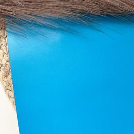 Fel blauw 20x22cm