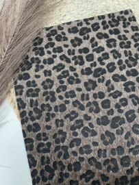 Furry panter donkerbruin A4