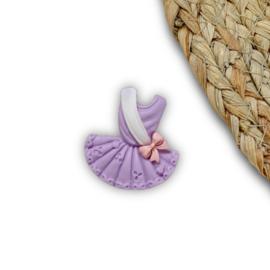 Ballerina jurkje paars
