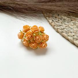 Oranje 15mm 10st