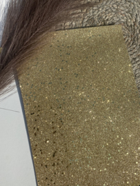 Fijn glitter goud paillet A4