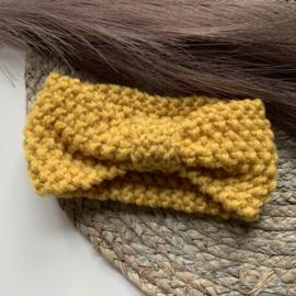 Winter haarband goud