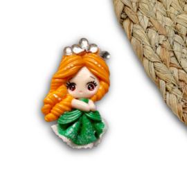 Prinses kant groen