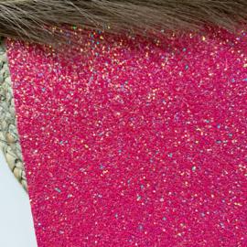 Glitter chunky fuchsia A4
