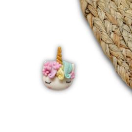 Eenhoorn hoofdje rainbow