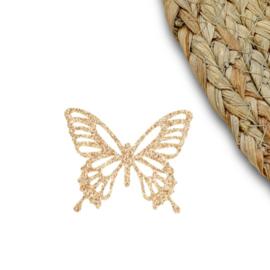 Vlinder groot goud