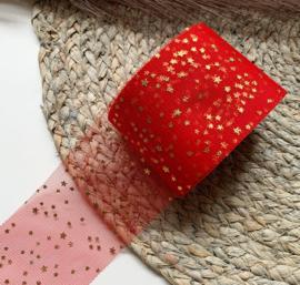 Rood sterren 6cm