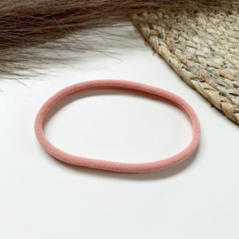 Oud roze haarbandje smal