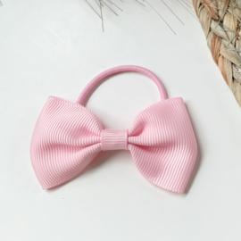 Haarstrik licht roze 7cm