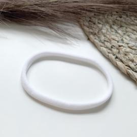 Wit haarbandje smal