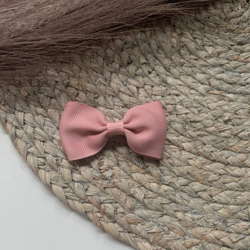 Strik lint 7cm oud roze