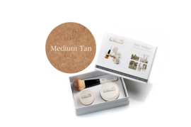 Start Today! kit Medium Tan + Beauty Glow Veil + Flawless kwast