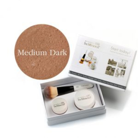 Start Today! kit Medium Dark + Beauty Glow Veil + Flawless kwast