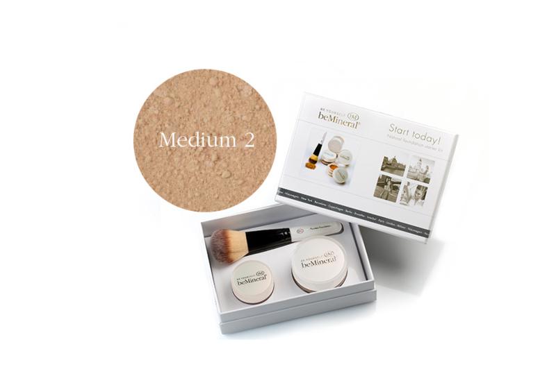 Start Today! kit Medium2 + Beauty Glow Veil + Flawless kwast