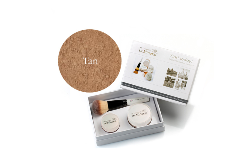 Start Today! kit Tan + Beauty Glow Veil + Flawless kwast