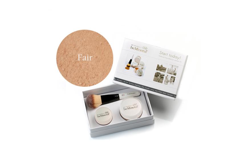 Start Today! kit Fair + Beauty Glow Veil + Flawless kwast