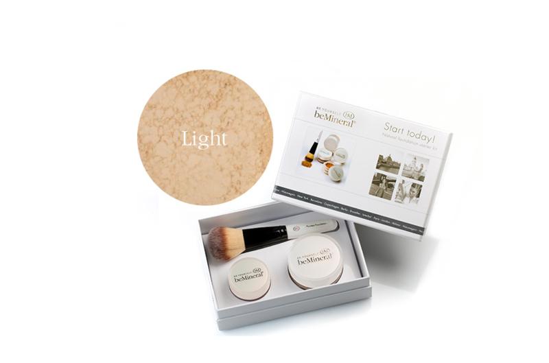 Start Today! kit Light + Beauty Glow Veil + Flawless kwast