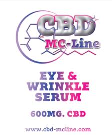 Oog- en rimpel serum 600 mg CBD, 30 ml