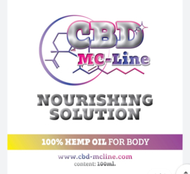 Nourishing Solution Body Cream 100ml, 100% Hemp Oil