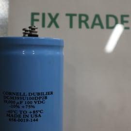 Cornell Dubilier DCM393U100DP2B Capacitor 39,000 uF 100 VDC -10 % +75 % -40 ºC To +85 ºC