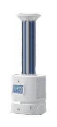 AMY UVC Desinfectie Robot