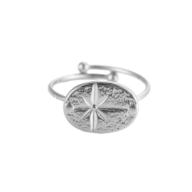 Ring met ster 'Lonely Star' zilver