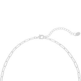 Zilveren schakelketting 'Open Chains'