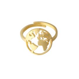 Ring 'Wanderlust' goud