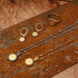Ketting 'Create Your Own Sunshine' goud