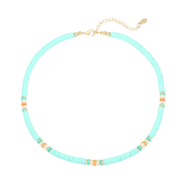 Surf ketting 'Ride The Waves' mint