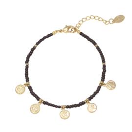 Armband 'Spiritual' bruin
