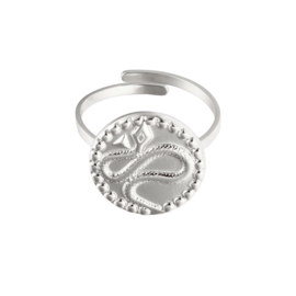 Ring 'Luna' zilver